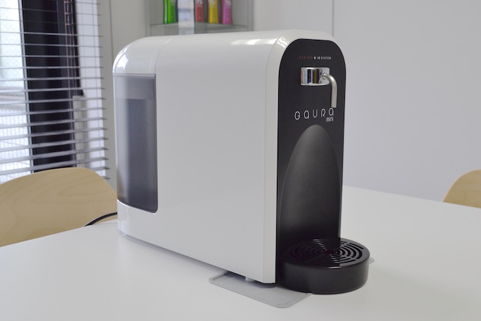 卓上型水素水サーバーの製品例(写真:ガウラミニ)