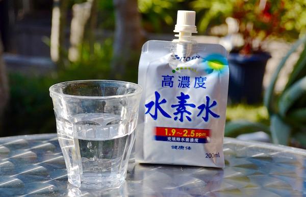 伊藤園のアルミパウチタイプ水素水「高濃度水素水」